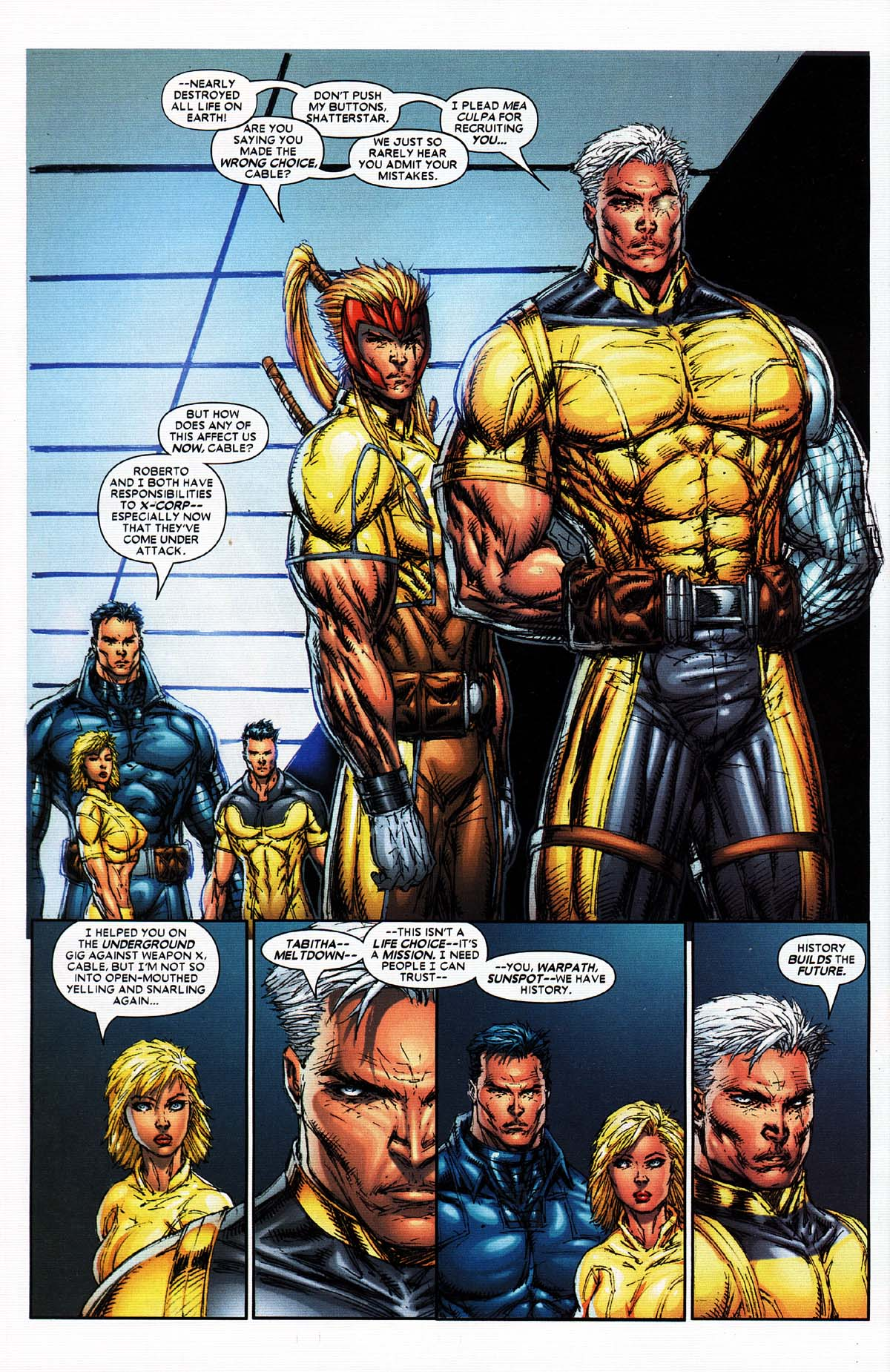 Read online X-Force (2004) comic -  Issue #2 - 19