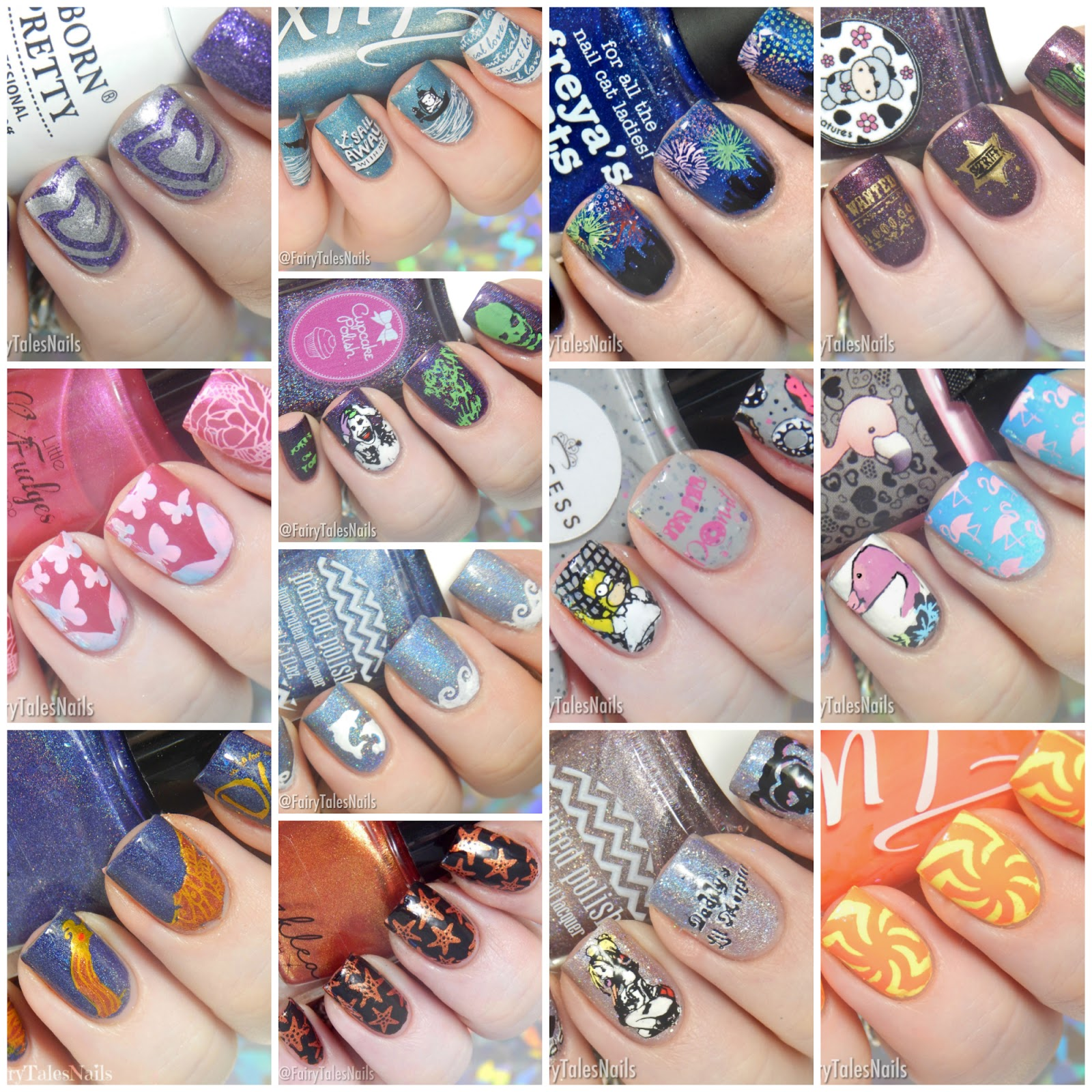 Fairytales Nails August 2017 Nail Art Round Up