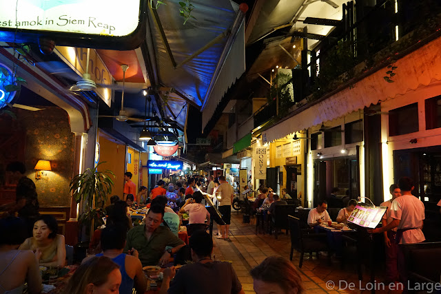 Restaurant Amok - Siem Reap - Cambodge