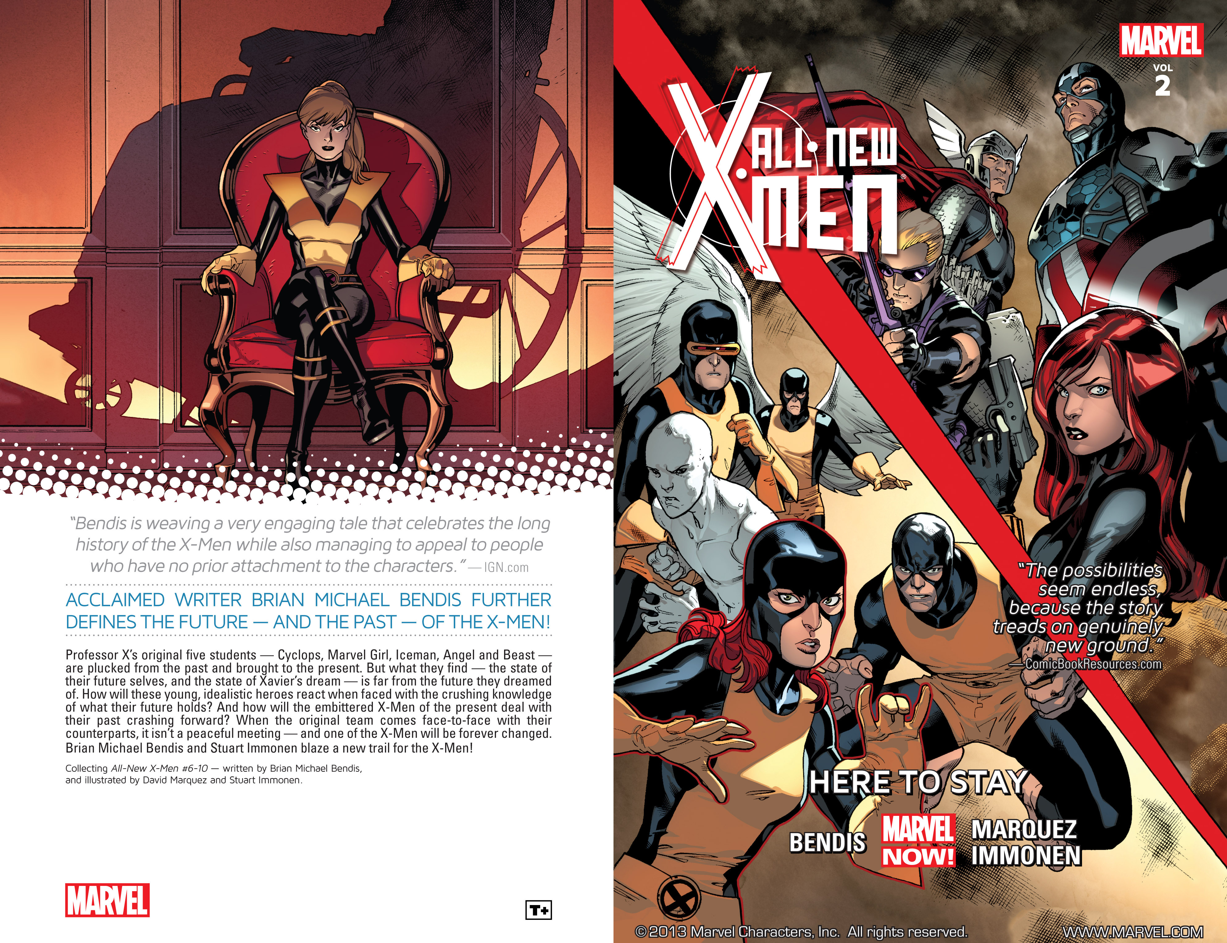 Read online All-New X-Men (2013) comic -  Issue # _Special - Here To Stay - 2