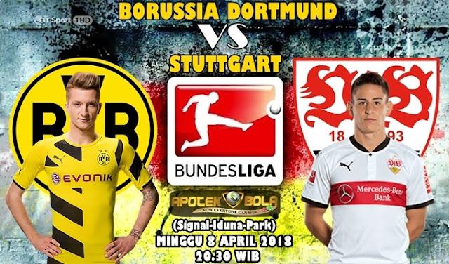 Prediksi Borussia Dortmund vs VfB Stuttgart 8 April 2018