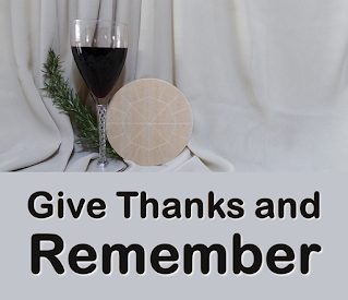 bread and wine used in Eucharist become Body and Blood