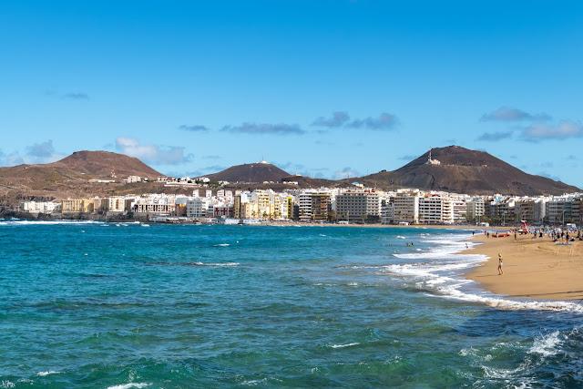 Die Top 30 Fotospots auf Gran Canaria  Strand, Natur und Sehenswürdigkeiten Gran-Canaria  Die besten Spots Gran Canaria - Playa de las Canteras