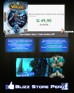 Wrath of the Lich King World of Warcraft en Perú
