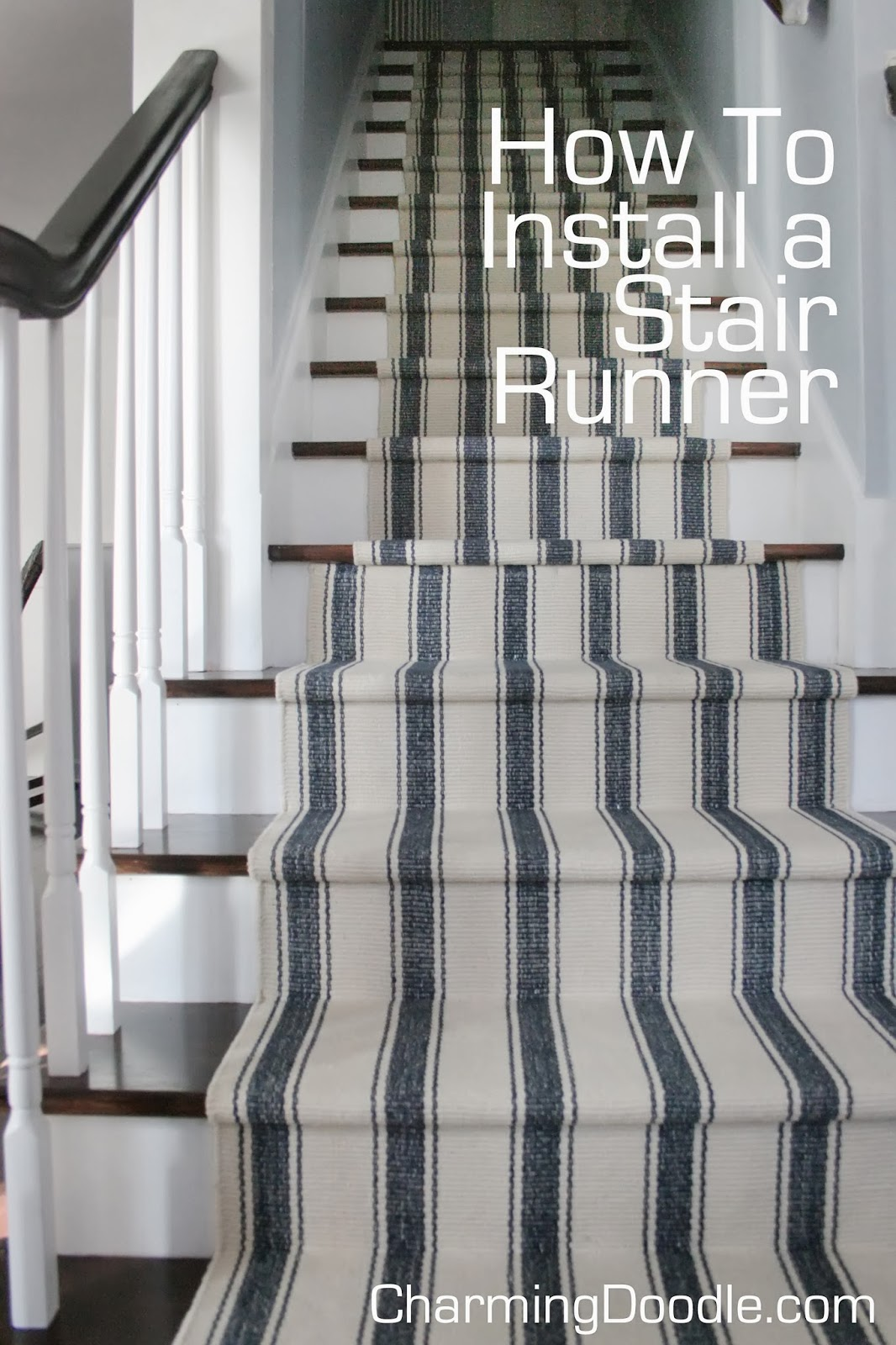 Stairs Rug Runners Charming Doodle Sew It Build It The Winning Runner Revealed