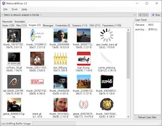 شرح برنامج التجسس على شبكة الويفي networkminer