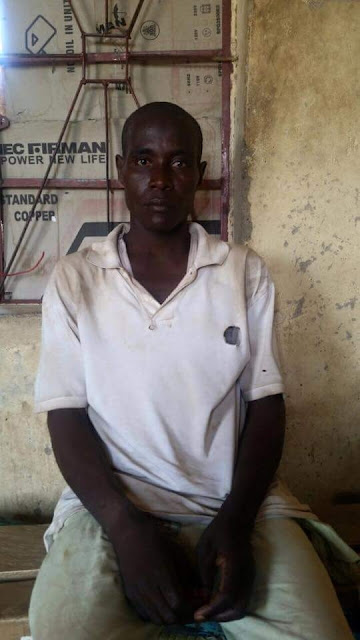 Army releases photo of Boko Haram husband of rescued Chibok Girl
