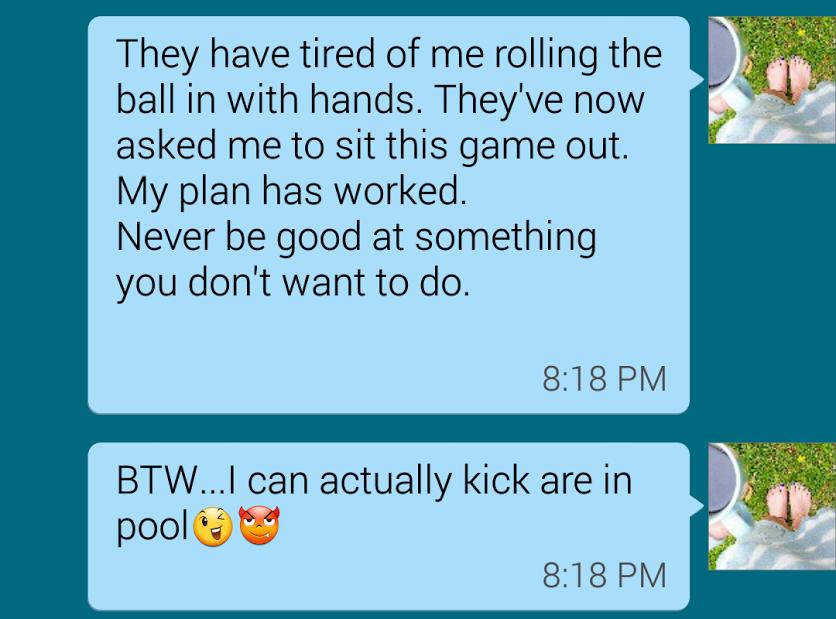 I'm really bad at dating
