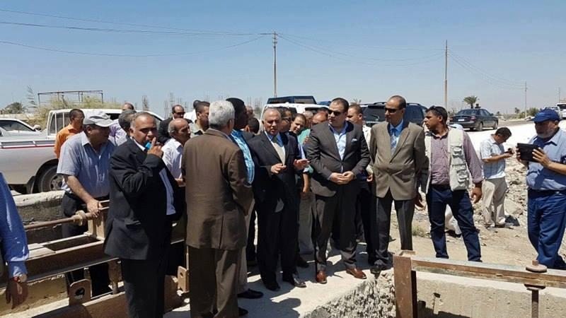 وزير الري بالفيوم 70 مليون جنيه لأقامة محطة جديدة بمصرف البطس بهدف القضاء علي مشكلة نقص المياه بالمحافظة