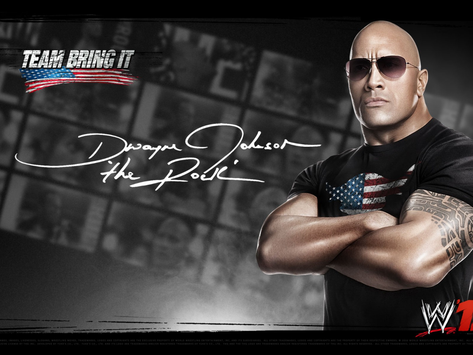 All About Wrestling Stars: The Rock Wallpapers