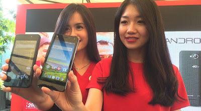 Harga Smartphone Android Terbaru Smartfren Andromex E2 Plus Dengan 4G Lite