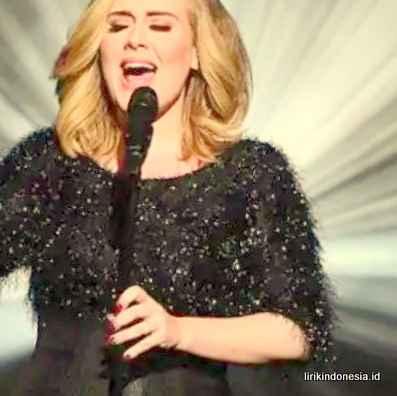 Lirik Rolling In The Deep Adele
