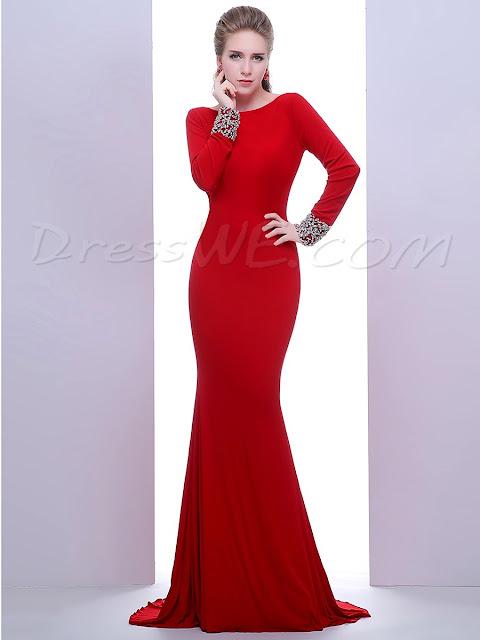 vestido para ocasioes especiais vermelho