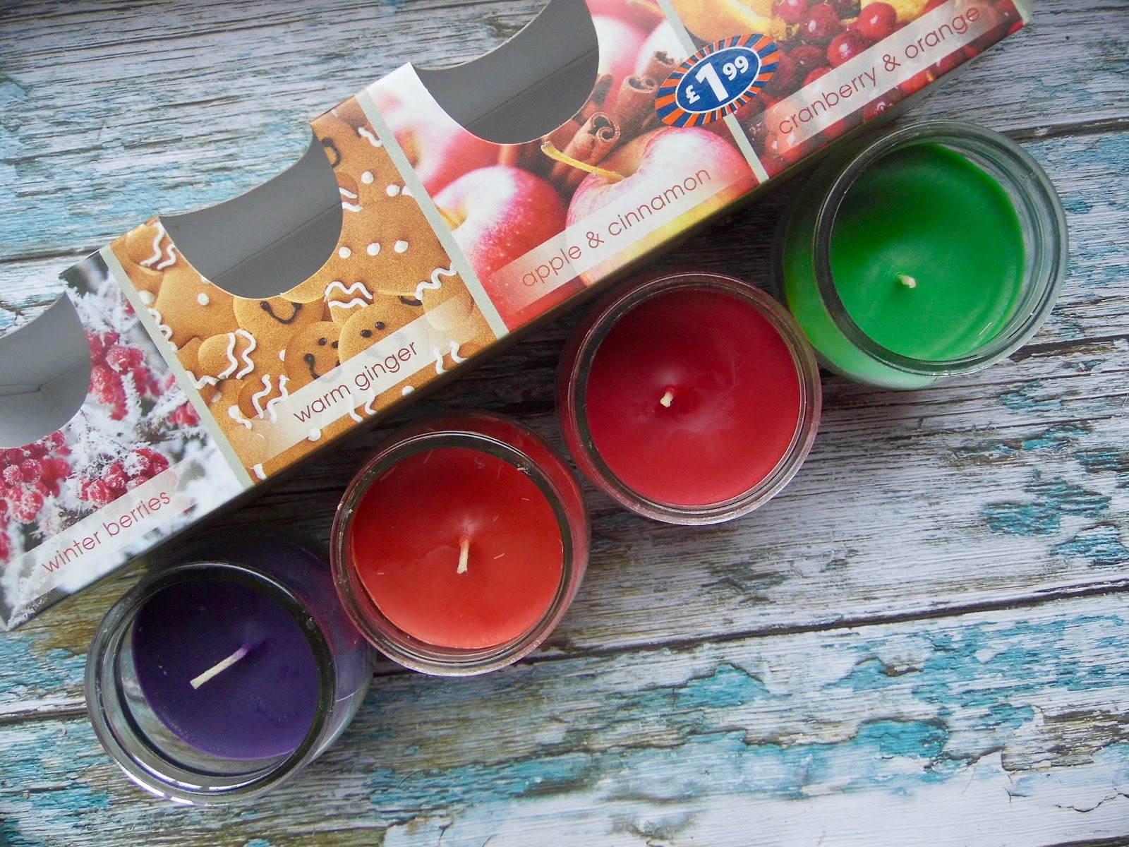 Blogmas Cheap Christmas Candles