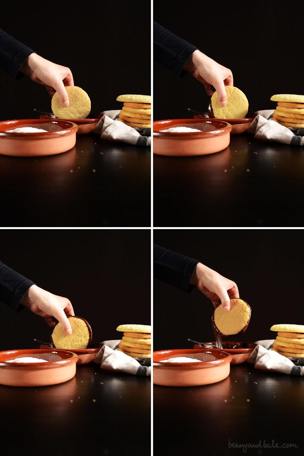 biscotti olio di cocco ricetta/ coconut oil cookies recipe