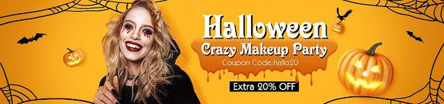 20% OFF Halloween Makeup Items