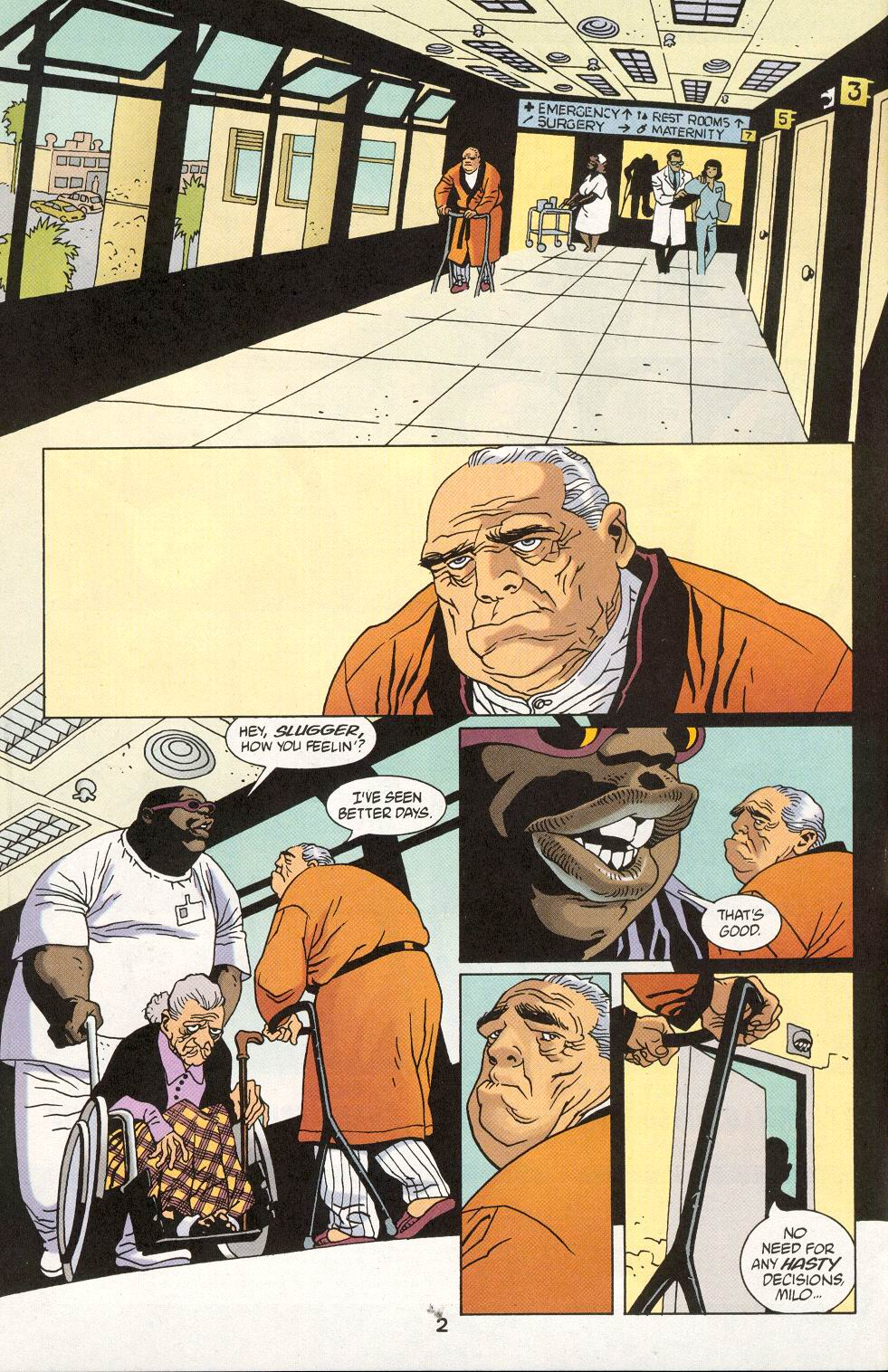 Read online 100 Bullets comic -  Issue #27 - 4