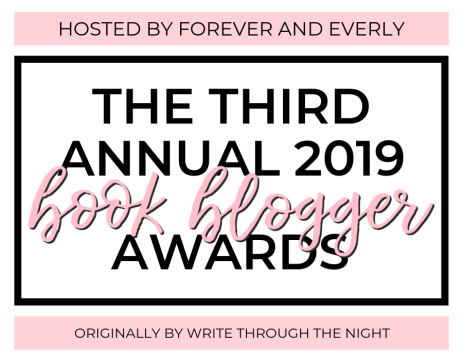 The Third Annual 2019 Book Blogger Awards