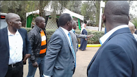 This is what RAILA ODINGA did to EZRA CHILOBA and GODEC at the BOMAS of KENYA – he shocked everyone