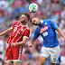 Na estreia de Süle e Rudy, Bayern perde do Napoli em casa pela Audi Cup