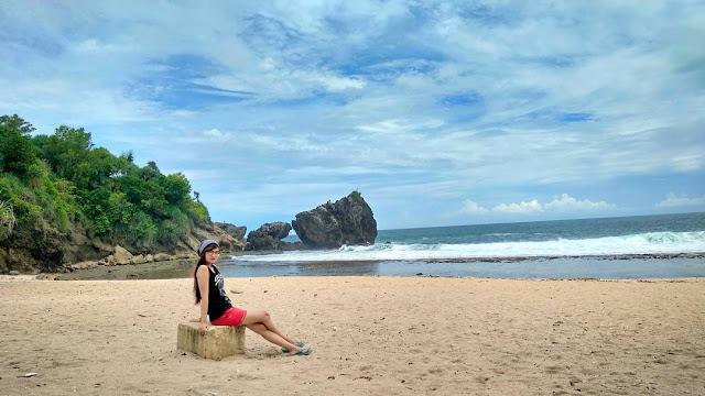 Pantai Jungwok, Pantai yang masih alami dan baru Gunung Kidul Yogyakarta
