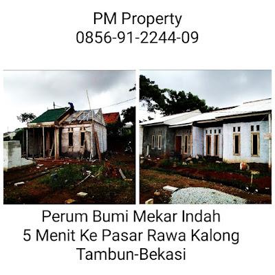 Cluster BUMI MEKAR INDAH Rumah READY STOCK Harga Murah 10 ke Menit Tol Bekasi Timur