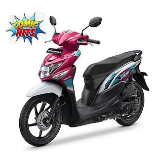 Sepeda Motor Beat Pop 3