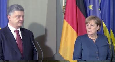 """Меркель настаивает на немедленных переговорах """"нормандской четверки"""""""