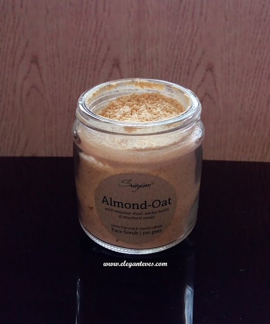 Review of Svayam Natural Almond Oat Face Scrub