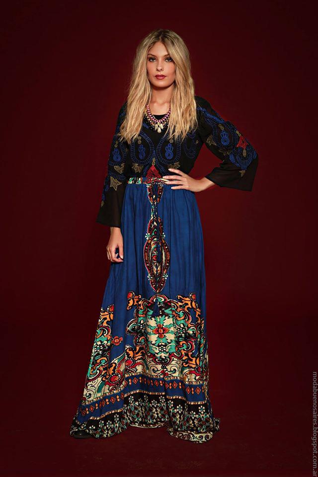 Moda invierno 2016 ropa de mujer Sophya invierno 2016.