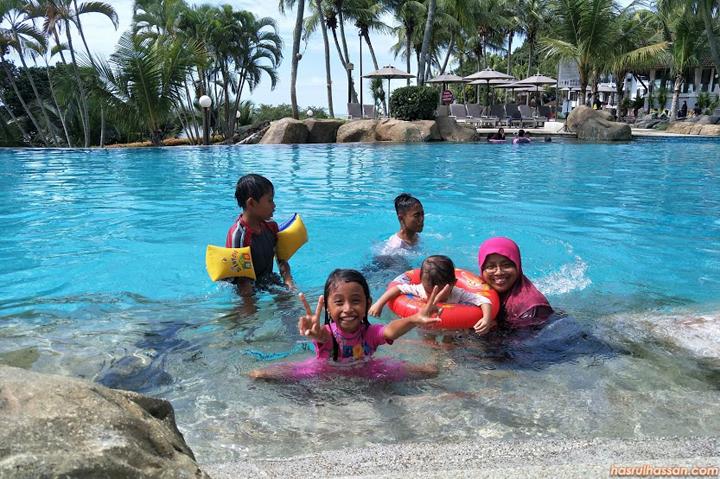 Percutian di Swiss-Garden Hotel Damai Laut Lumut, Perak