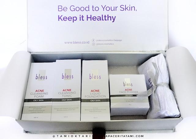 [REVIEW] Rangkaian Produk Bless Cosmetics Untuk Kulit Berminyak Dan Berjerawat