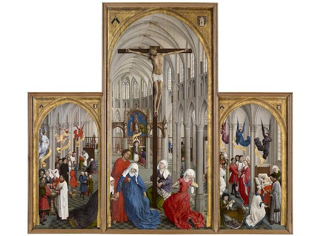 The Seven Sacraments, an altarpiece by Rogier van der Weyden, c.1448