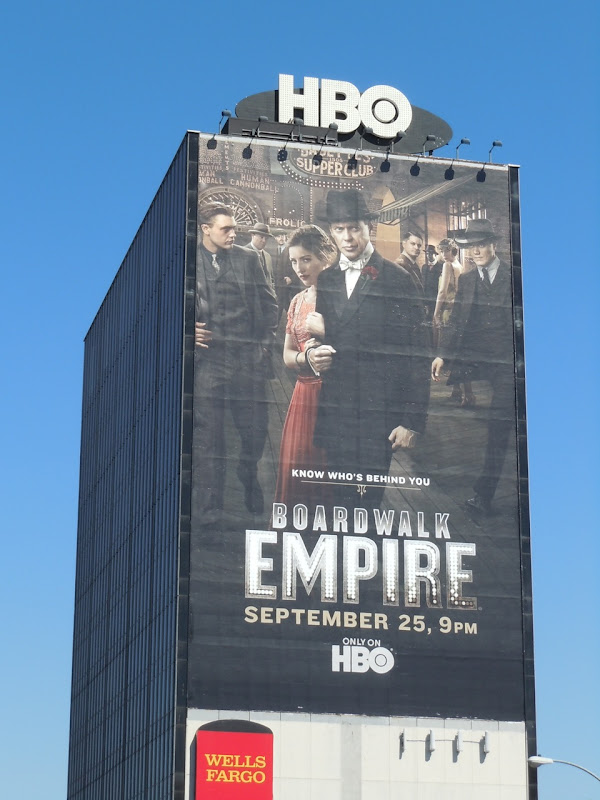 Boardwalk Empire season 2 TV billboard