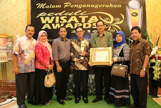 Anugerah Peduli Wisata, Bukittinggi Raih The Best Performance
