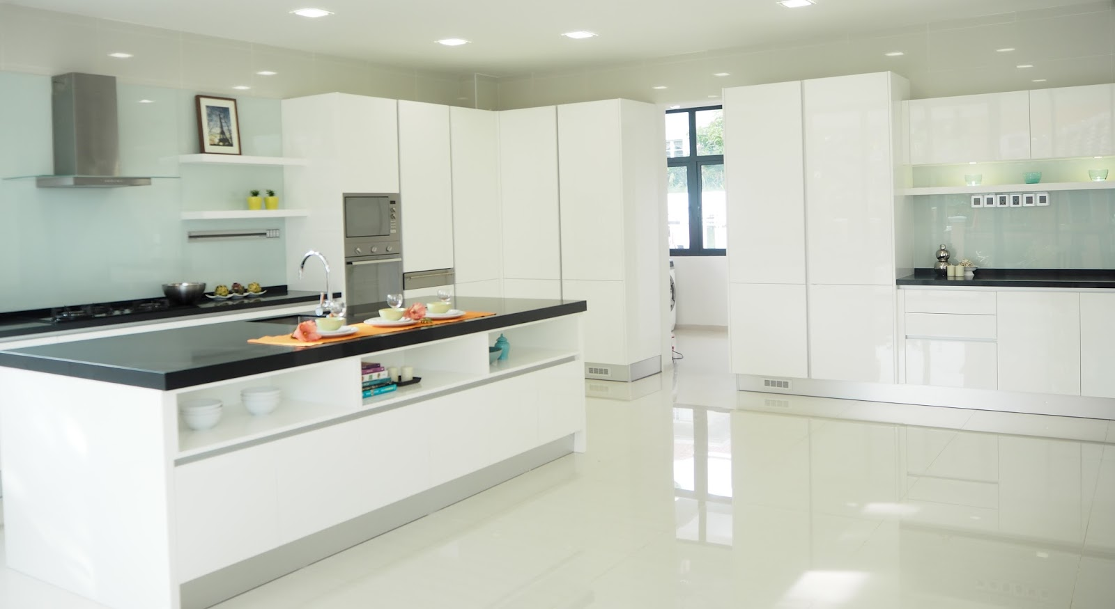 meridian interior design and kitchen design in kuala lumpur selangor malaysia modern white. Black Bedroom Furniture Sets. Home Design Ideas