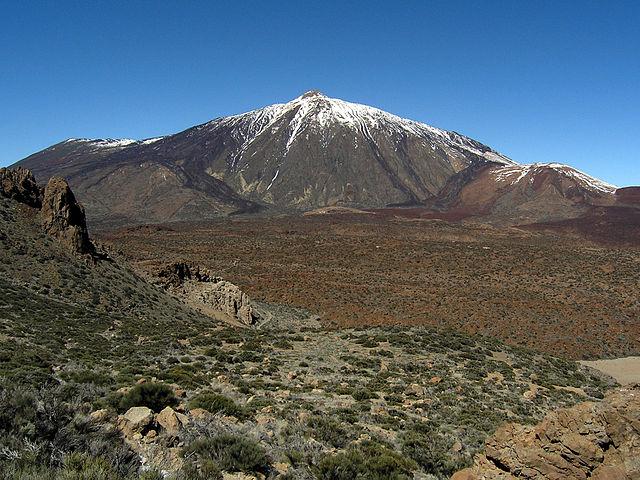 Vulcão El Teide nas Ilhas Canárias