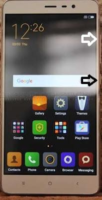 Cara Factory Reset Terkunci Pola Xiaomi Note 3