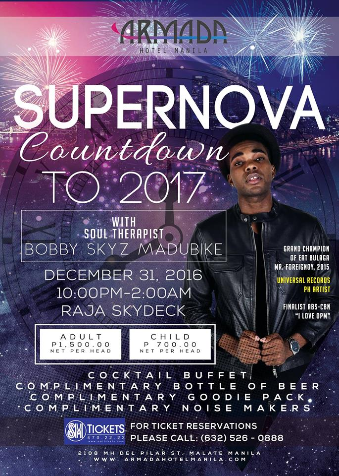 Armada Hotel Manila: Supernova Countdown to 2017