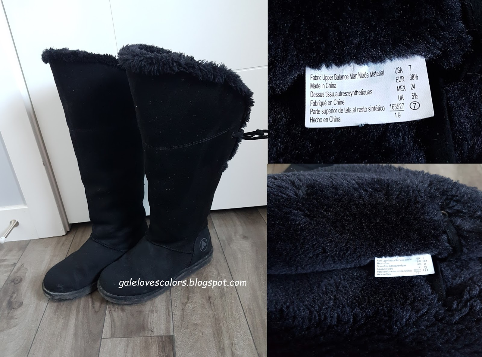 2bf12d4d My Airwalk knee high boots is the cruelty-free version of UGGs. I really  love the style of UGG boots, they are also really comfortable and warm but  they ...