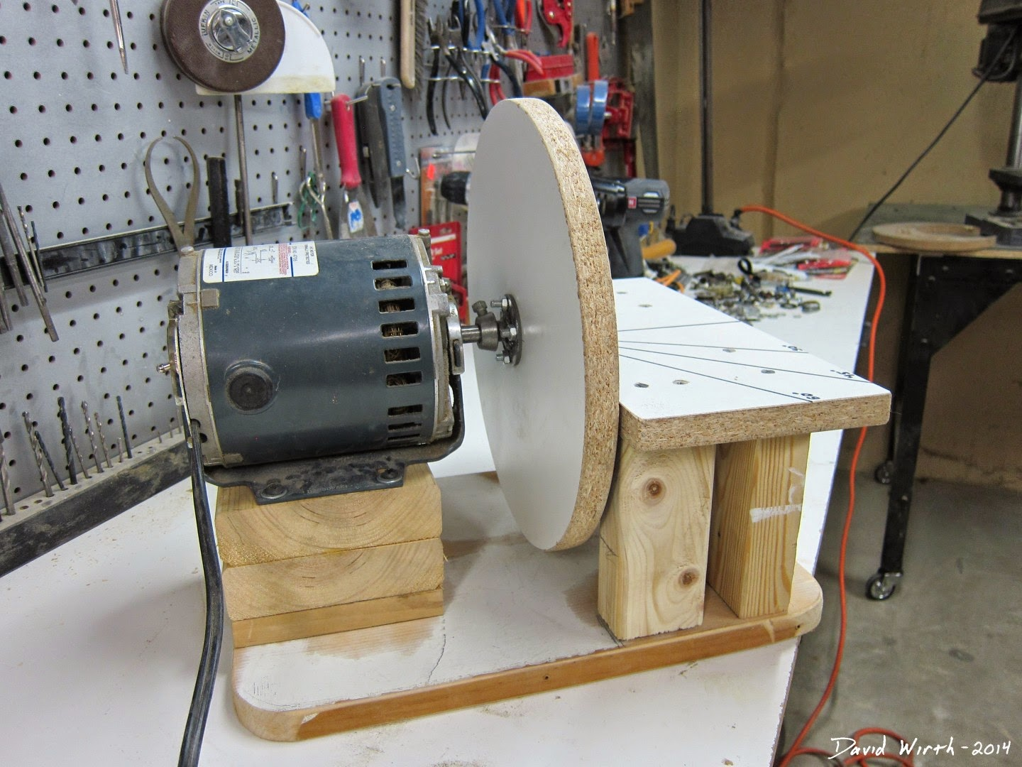 Disc Sander Diy Build For Free