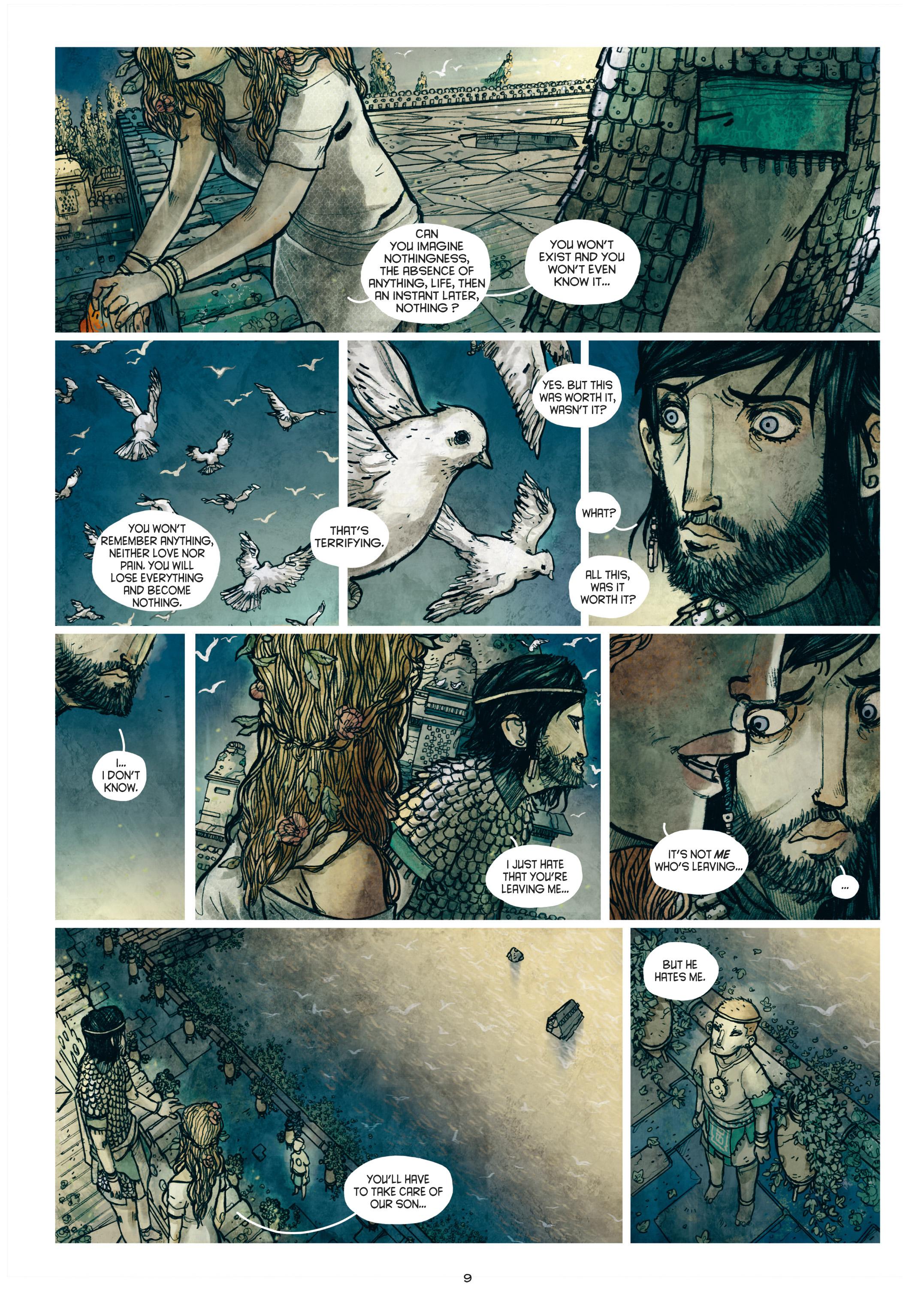 Read online Adrastée comic -  Issue #1 - 10