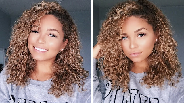 Essential Steps to Set the Curly Blonde Hair Extensions