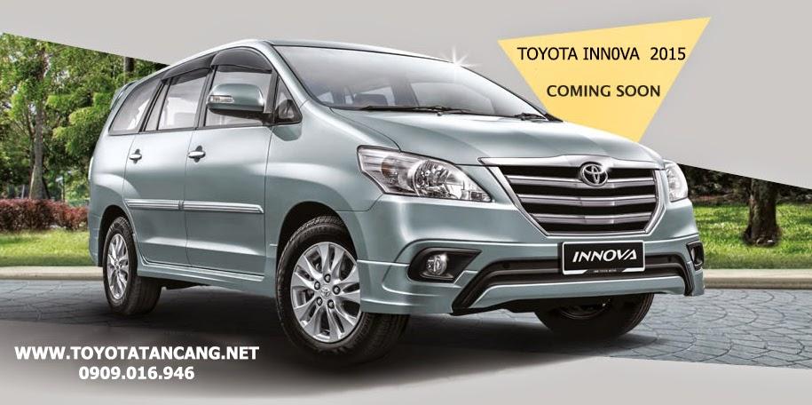 toyota innova 2015 sap ra mat -  - So sánh Toyota Innova và KIA Rondo : Đĩnh đạc và trẻ trung