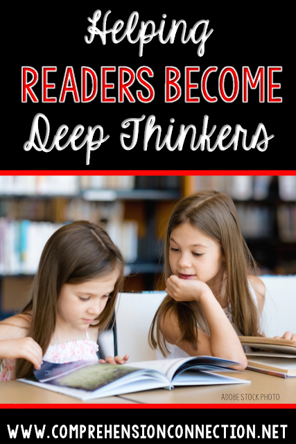 Help your readers become deep thinkers with these teaching techniques.