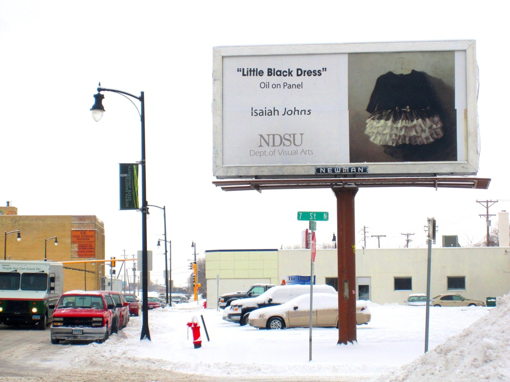 i johns fine art ndsu billboard award winner