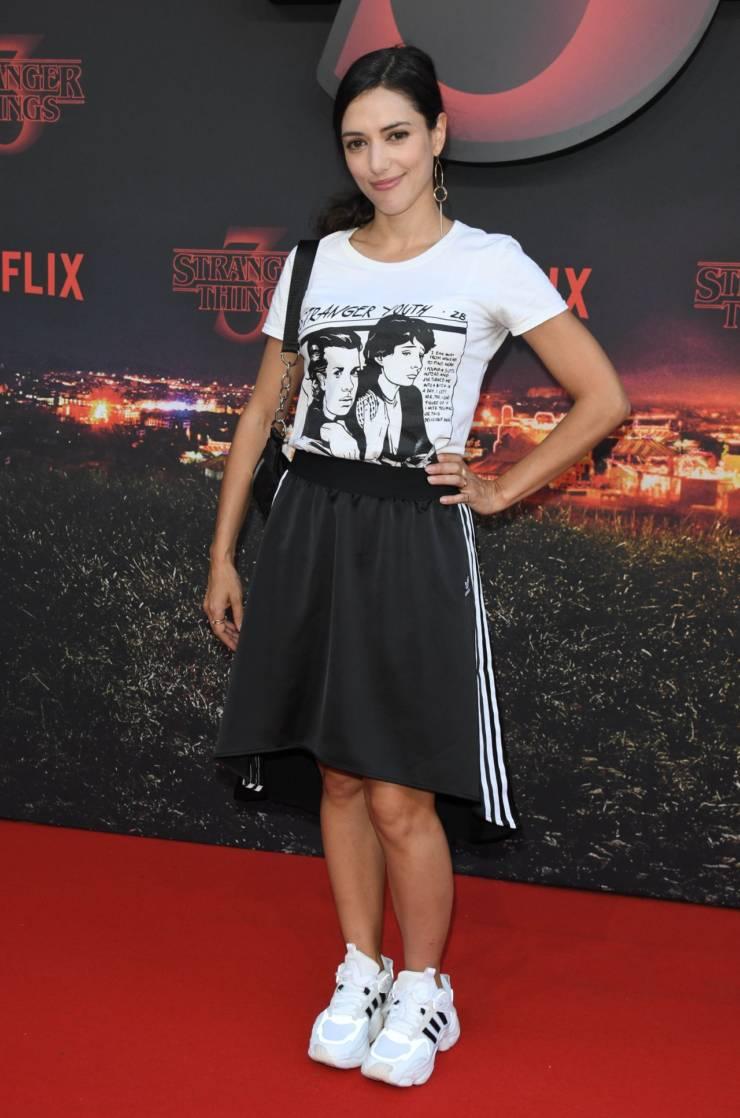 Vanessa Guide At Stranger Things Season 3 Premiere in Paris