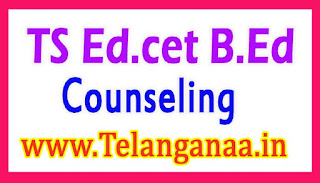 TS B.Ed Second Counseling 2017 Check EDCET Web option Dates