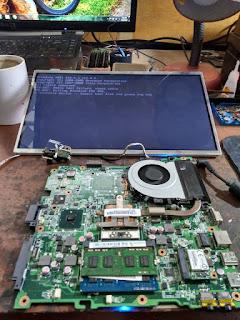 service laptop acer 4253 mati total,di malang