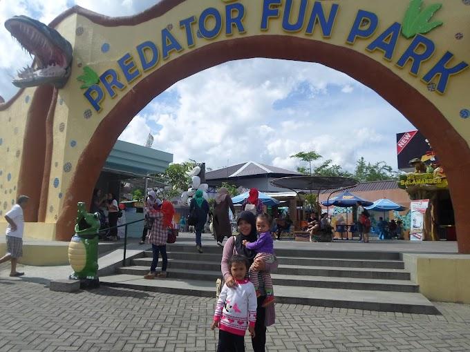 Liburan Seru di Predator Fun Park